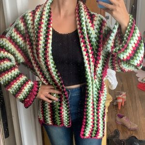 😮 Crocheted Jacket NEW from URBAN OUTFITTERS